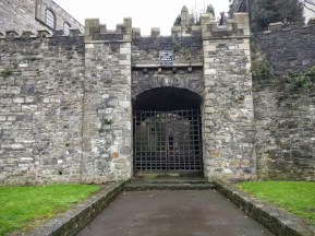 City walls and gate from the 13th century