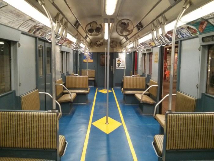 The New York City Transit Museum, Brooklyn, NYC.