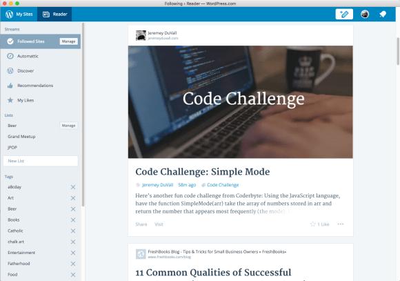 The WordPress.com Mac App