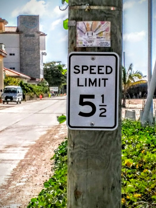 When 5 MPH is too slow and 6 MPH is too fast.