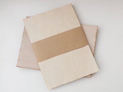 hârtie antichizată, hârtie învechită