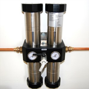 kraftaverk H2O QUADRO 120L Carbonit Carbon Filtration System