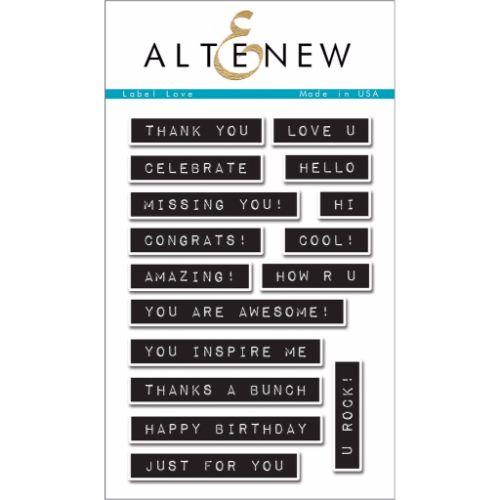 Altenew – Label Love Stamp Set
