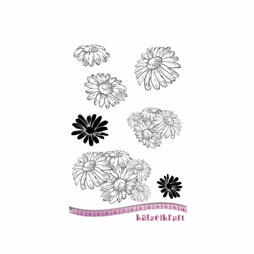 les-marguerites-rubber-stamp-french-style