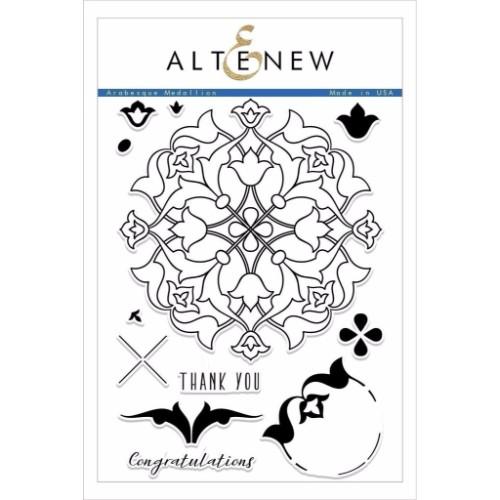 Altenew – Arabesque Medallion Stamp Set
