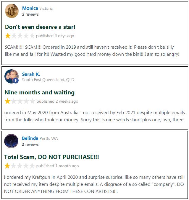 Kfraftgun reviews
