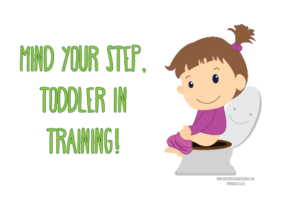 Toddler Potty printable