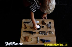 Latchboard DIY, Fine Motor Skills, Toddler Activities