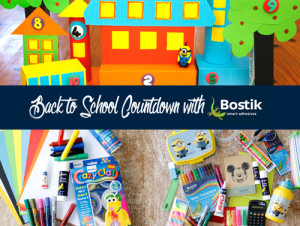 Bostik, glue, crazy clay, back to school