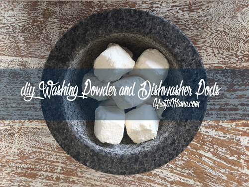 DIY Washing Powder & Dishwasher pods