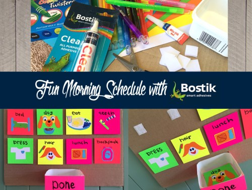 Fun Morning Schedule for Primary School Kids
