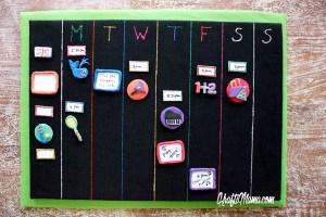 Kids activites, calendar, extra curricular