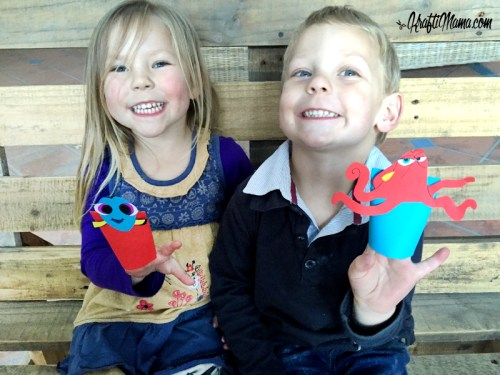 Paper crafts Hand Puppets