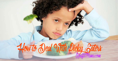 Here's how to deal with picky little eaters…