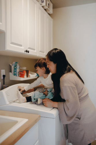 Make Laundry Day Fun for the Whole Family + Free Printable! *Guest Post by Emily Gibson*