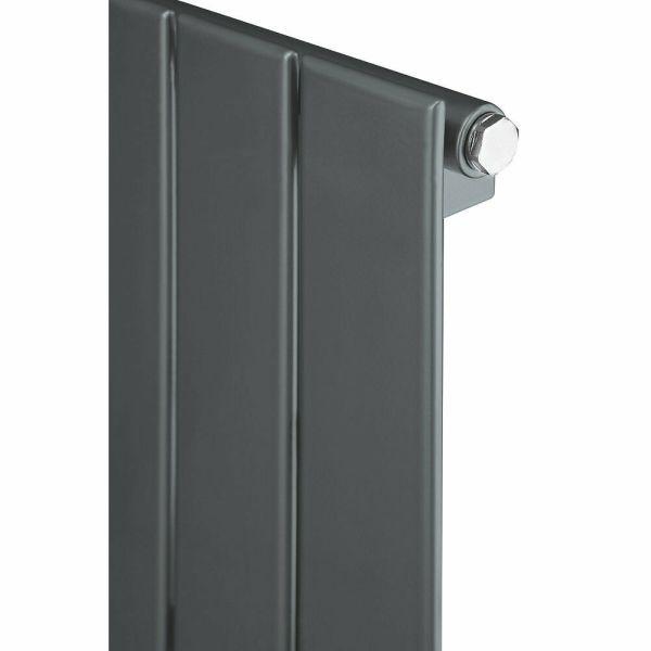 Antracīta vertikālais radiators 1800x445 2