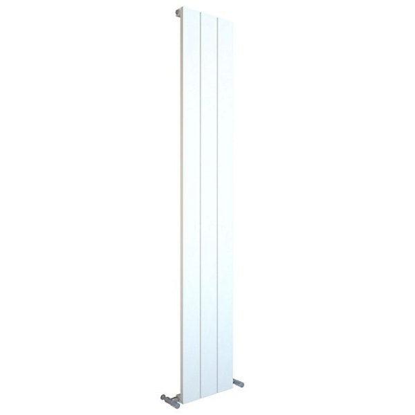 Balts vertikālais radiators 1800x280 1