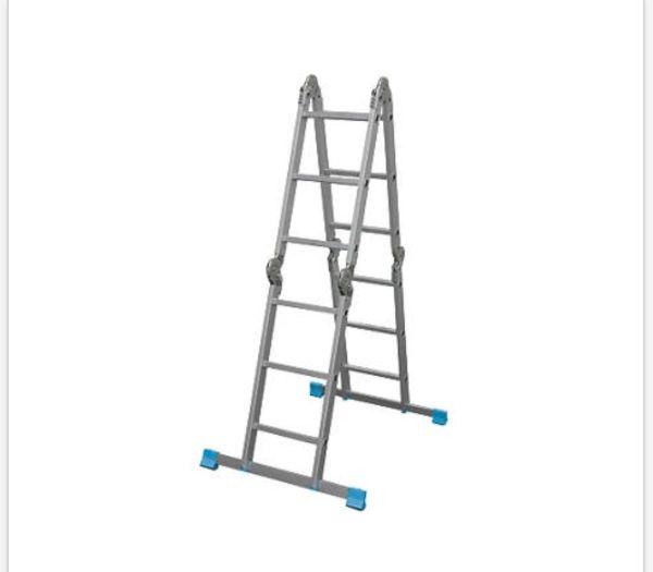 Mac Alister 4x3 saliekamās kāpnes 1