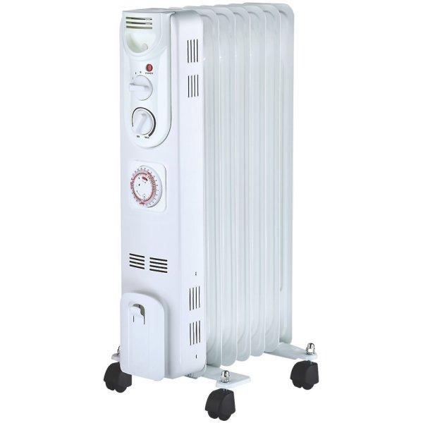CYB20T-7 1500W eļļas radiators ar taimeri 1