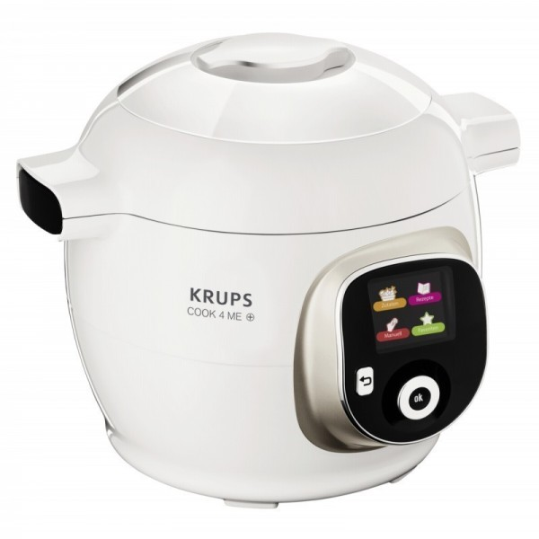 Krups CZ 7101 Multicooker Cook4Me+ white / Silver / Stainless steel 1