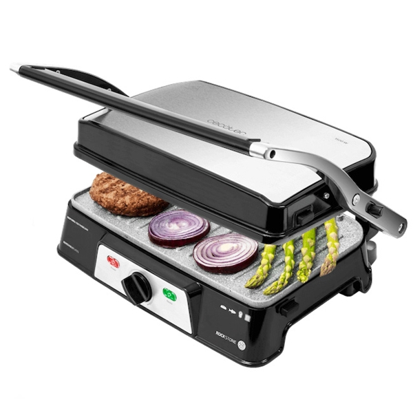 Cecotec ROCK´NGRILL 1500 TAKE&CLEAN grills 1