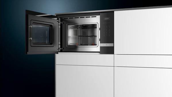 Siemens BE525LMS0 Iq500 iebūvējama mikroviļnu krāsns 4