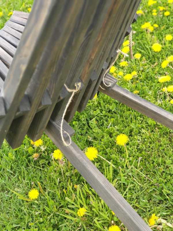 Salokāms dārza krēsls 5