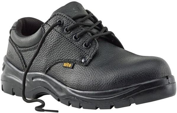 SITE Coal ādas darba apavi 43 izmērs 1