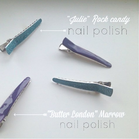 One step diy hair clips