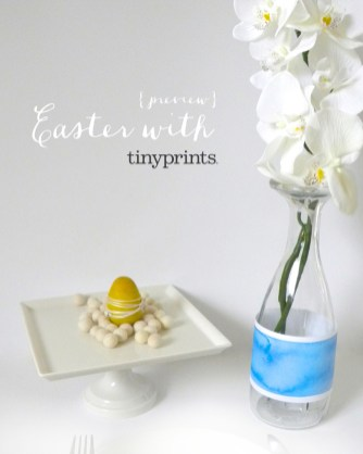 Preview: Easter with tinyprints