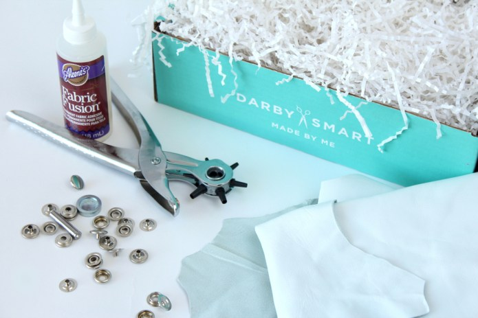 kraft&mint DIY Infinity Leather Scarf for Darby Smart