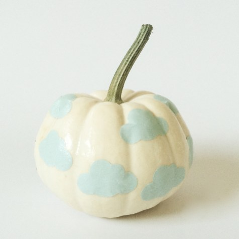 DIY Pastel Pumpkins by kraft&mint blog kraftmint dot com