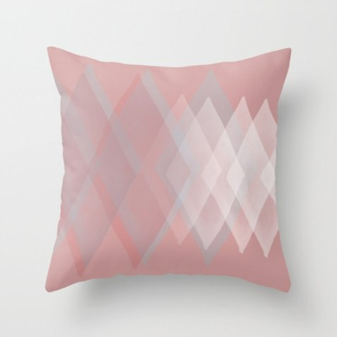 Pillow design by kraft&mint (me!)