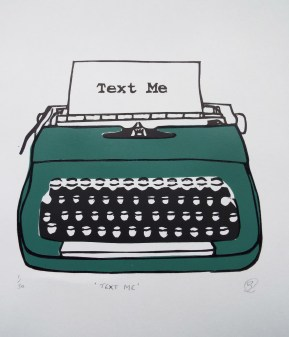 Typewriter (Green) 1
