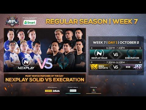 (Filipino LIVE) LIVE NOW: MPL-PH Season 6 Regular Season Week 7 Day 1