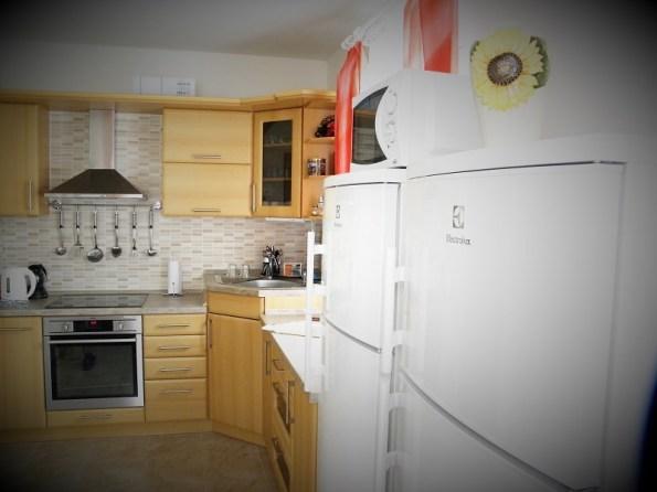 Ubytovanie na Krahuliach, kuchyňa