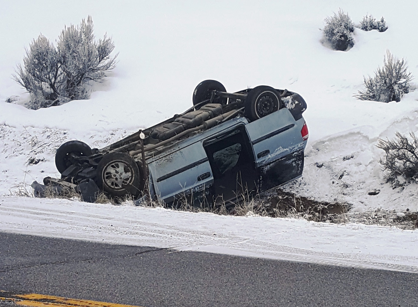 Three Accidents Yesterday Due To Winter Weather