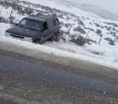 Car In Ditch 031716 hgwy 13 N
