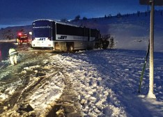 steamboat SUV- bus crash