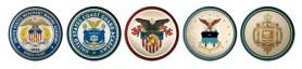 service academy seals