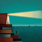 Илустрации на артист кој сака да го сврти вниманието кон проблемите на модерниот свет