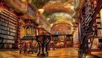 Најубавата библиотека во светот се наоѓа во Прага