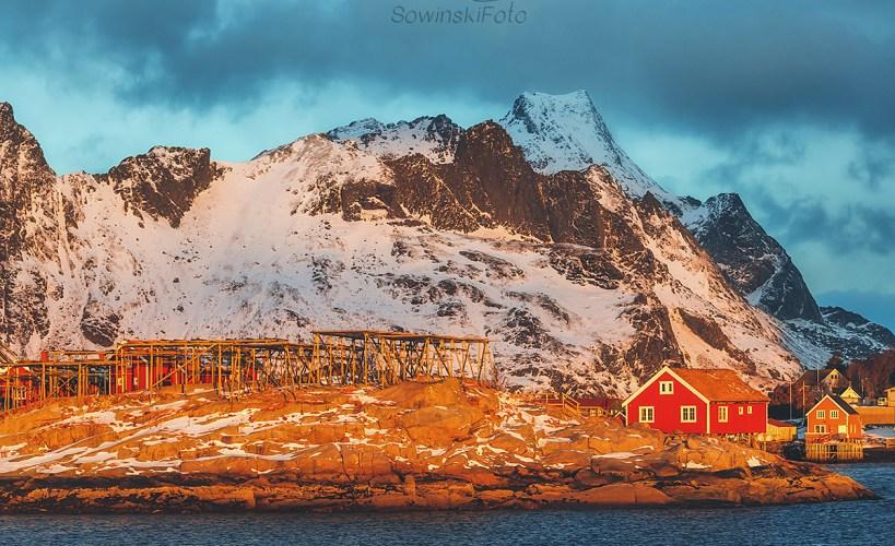 Suszarnia ryb/ Norwegia