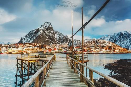 Molo w górach / Norwegia