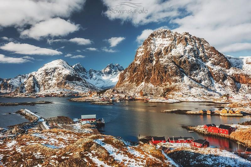Góry krajobraz Norwegia
