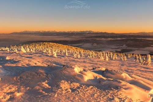 Krajobraz góry Pilsko