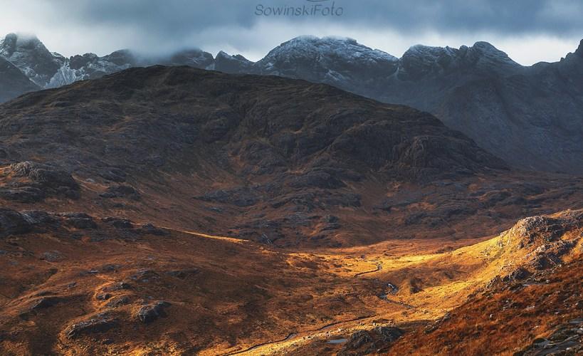 Jesień Isle of Skye zdjęcie