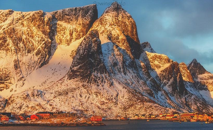 Człowiek a góry /Norwegia
