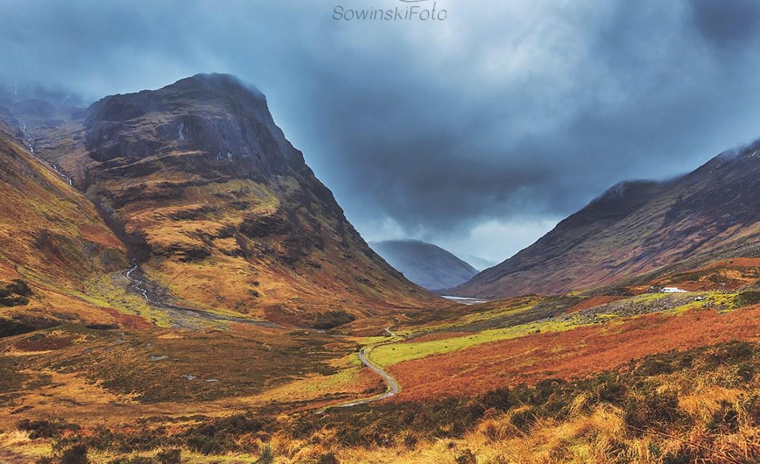 Szkocja góry krajobraz