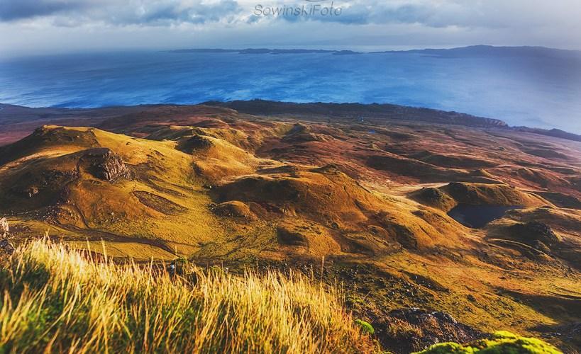 Krajobraz jesień Isle of Skye